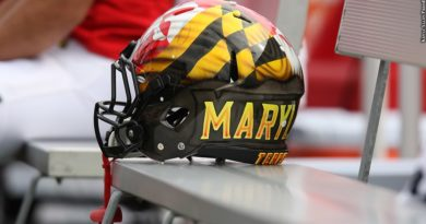 Maryland football helmet