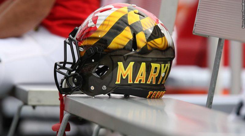 Maryland football helmet