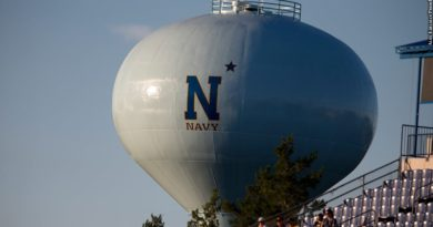 Navy water tower