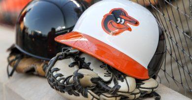 Orioles glove